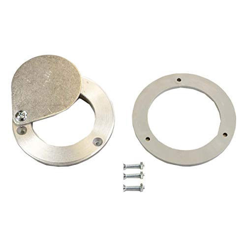Find Discount 3 Garage Door Exhaust Port 1/4 Thick