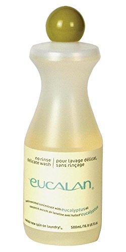 Eucalan - pflegendes Feinwaschmittel für Hand- und Maschinenwäsche Duft Eukalyptus, Packungsgröße 500ml