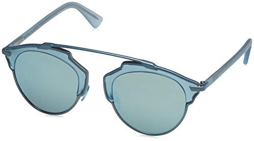 Dior Women DIORSOREAL 48 Blue/Blue Sunglasses 48mm
