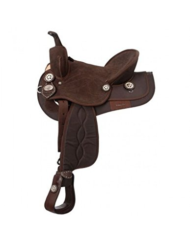 King Series Synthetic Trail Saddle Brown/BRWN 14
