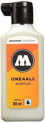 Molotow mo692237Refill one4all, recarga para marcador permanente 180ml, 1pieza, azul grisáceo claro