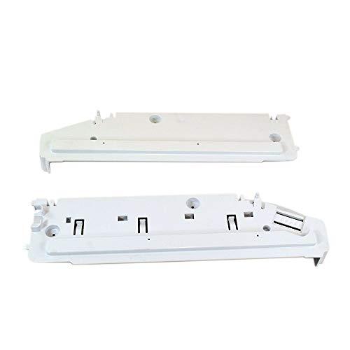 Whirlpool W10874836 Refrigerator Pantry Drawer End Cap Set Genuine Original Equipment Manufacturer (OEM) Part