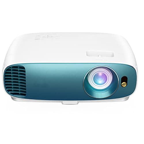 Proyector de Cine en casa, con HDR y HLG, 3000 lúmenes, 96% Rec.709 Color preciso, Altavoces duales incorporados y Full HD 1080P, Adecuado para la Familia