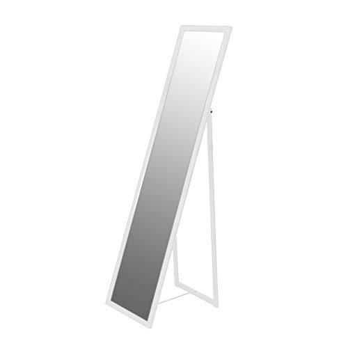 Harbour Housewares Ganzkörper-Standspiegel - rechteckig - Weiß