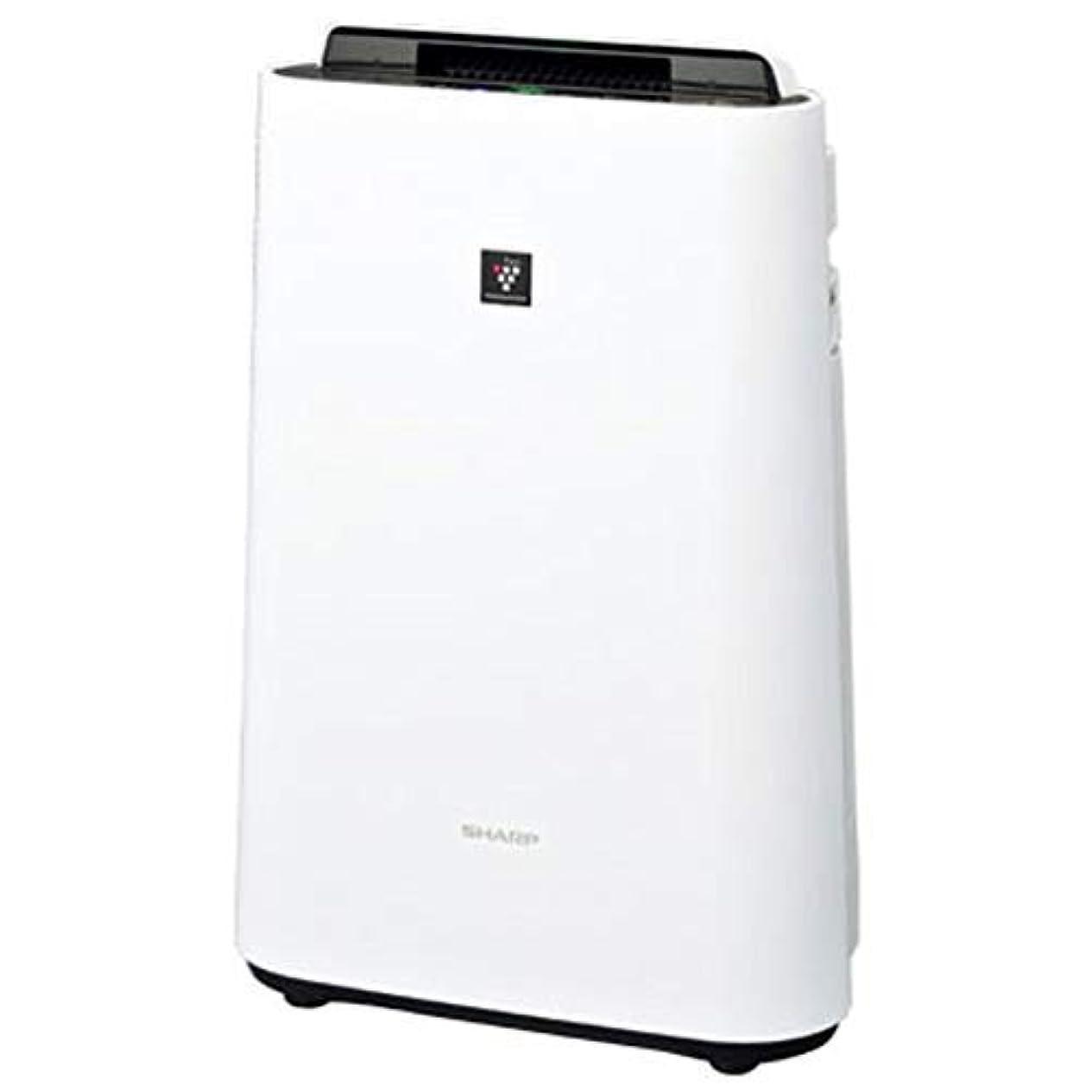 操作可能確かめる腐食するシャープ 加湿 空気清浄機 プラズマクラスター 7000 スタンダード 13畳 / 空気清浄 23畳 ホワイト KC-J50-W