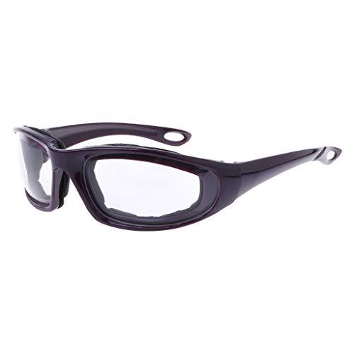 BIlinl Gafas de Seguridad Cortar Las cebollas Gafas Protectoras Práctico de Cocina Anti Tear Eye Glasses Herramienta de Cocina
