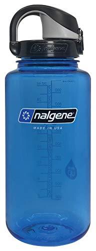 Nalgene - Botella de agua unisex con tapa OTF, color azul y negro, 24 oz