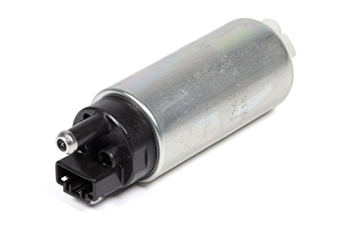 GSS342 255 LPH High Flow Electric Intank Fuel Pump with Installation Kit Black