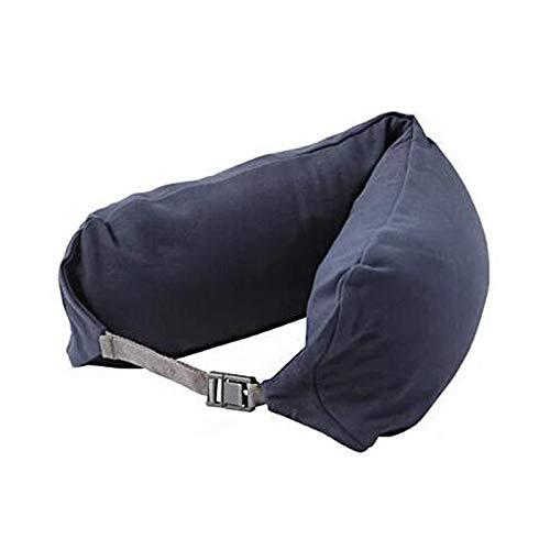 BaoYPP En Forma de U Almohada Multi-Funcional en Forma de U Almohada Camping sombreado Resto Sombrero de Soporte del Cuello Almohada Accesorios Suministros Suave y fácil de Llevar
