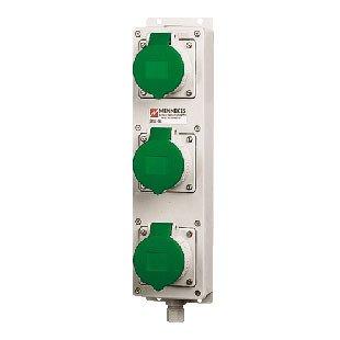 Mennekes Steckdosenleiste TL 95937 TL CEE-Steckdosen-Kombination 4015394091820