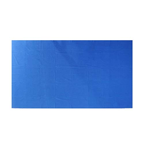 BENOHAOH Piscina de Tela de Billar Ocho Bola Billar Pool Mesa de Mesa para Billar Americano Accesorios de Billar Billar Mesa de Billar Fieltro (Color : Blue)