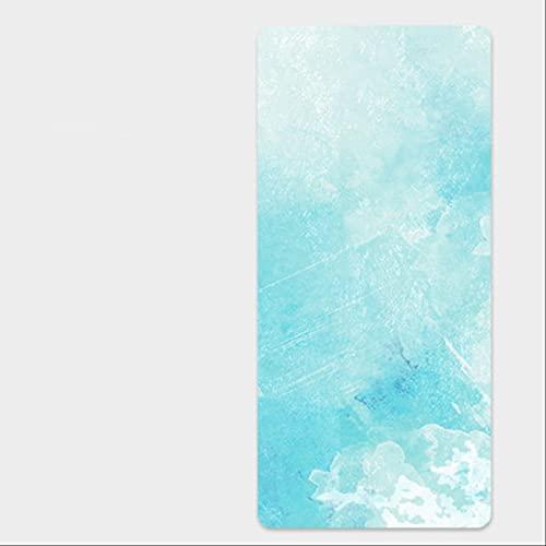 lgnoran Almohadilla De Yoga TPE Impresión De Almohadilla De 6 Mm De Protección del Medio Ambiente