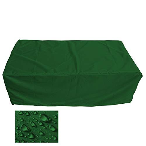 Holi Europe Premium Housse pour table de salle à manger rectangulaire Table de jardin mobile d'extérieur Housse de protection Feuille Kit de récupération Décoration d'extérieur Housse de protection de haute qualité L 150cm x P 90cm x A 75cm Verde Abete