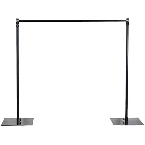 10ft x 10ft Heavy Duty Backdrop Stand with Steel Base, Photo Booth Stand, Backdrop Frame, Wedding Backdrop, Ceremony Backdrop