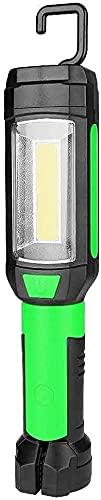 NYCUABT Hammer de seguridad multifuncional 9 en 1, herramienta de escape de emergencia con linterna, interruptor de ventana y cortador de cinturón de seguridad, luz de trabajo magnética LED con gancho