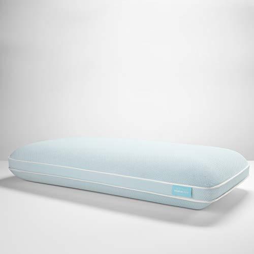 Tempur-Pedic TEMPUR-Cloud + Cooling ProHi Pillow, Memory Foam, King, White