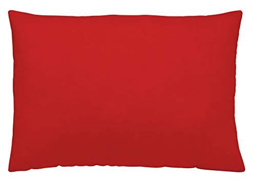 NATURALS Funda de Almohada Rojo 45x110 cm