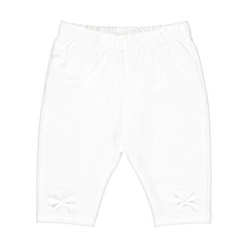 Steiff Legging, Blanc (Bright White 1000), 62 (Taille Fabricant: 062) Bébé Fille