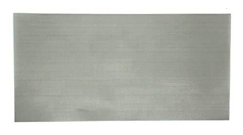 Edelstahlsieb Mesh 500 25my 200mm x 100mm ESS Edelstahlsiebgewebe Stainless Steel Mesh Sieb Filter Feinmaschig