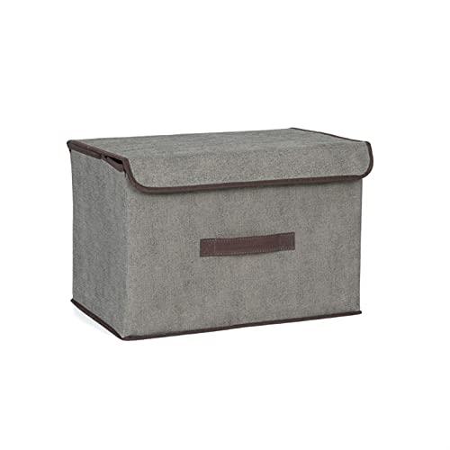 Giplar Cajas de almacenaje Plegables no Tejidas Plegable Almacenamiento Caja Cubo Organizador del Armario se Puede Utilizar para el Estante (Color : C, Size : Small)