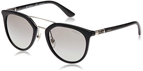 Vogue Eyewear 0VO5164S W44/11 52 Occhiali da Sole, Nero (Black/Gradient), Donna
