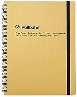 デルフォニックス ロルバーン ポケット付メモ [ポケット付き/切離しミシン目付き] (横203×縦260×厚み17mm/XLサイズ) メタリック XLサイズ ゴールド NRP17-GO