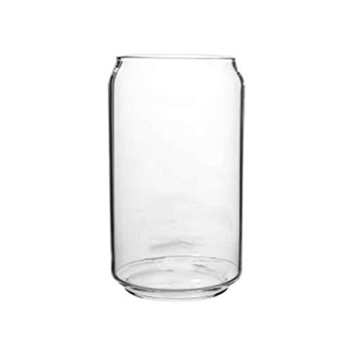 Angoily Vasos de Cerveza de Vidrio Transparente Vasos para Beber de Uso...