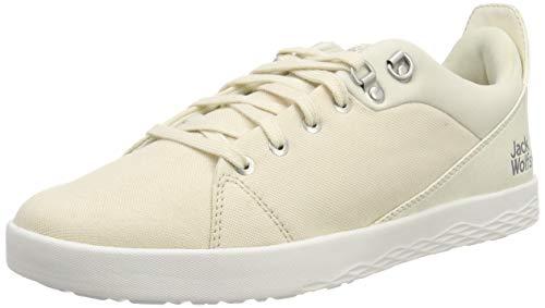 Jack Wolfskin Herren Auckland Ride Low Sneaker, Elfenbein (White Sand 5017), 42.5 EU