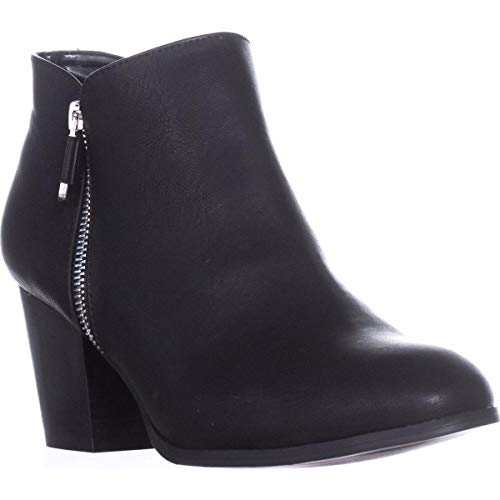 Price comparison product image Style & Co. Womens Masrina Almond Toe Ankle Fashion Boots,  Black,  Size 8.5