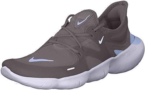 Nike Free RN 5.0 Mens Running Trainers AQ1289 Sneakers Shoes (UK 7 US 8 EU 41, Thunder Grey Black 008)