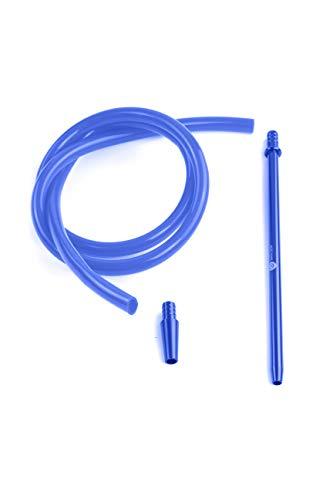 Mata Leon Silikonschlauch & Mundstück Set, SSS100 blau (blue)