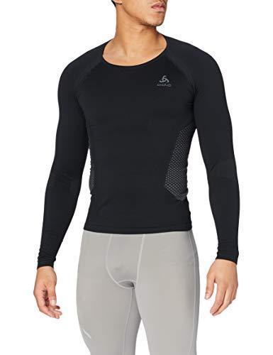 Odlo Camiseta Interior Suw Crew Neck Performance para Hombre, Hombre, Camiseta, 159042,...
