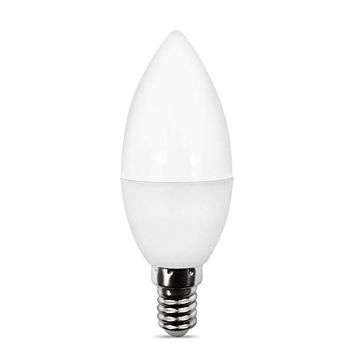 MYBOON Smart WiFi Bombilla LED E14 / E12 RGB + W + C Luz Regulable LED Control Remoto Lámpara Inteligente de Trabajo B #