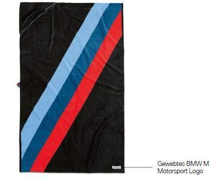 BMW Original M Motorsport Handtuch Kollektion 2019/2021
