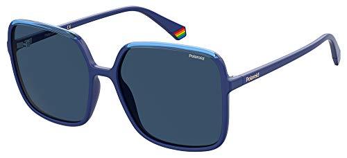Polaroid Gafas de sol PLD 6128 S PJP C3 azules lentes polarizadas