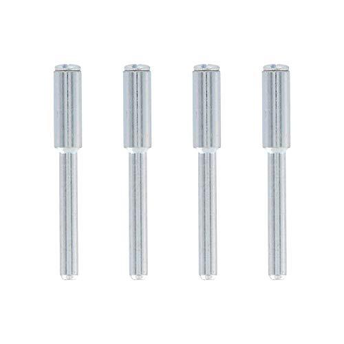 Dremel 402 Aufspanndorn - Zubehörsatz für Multifunktionswerkzeug mit 4 Dremel Aufspanndornen zur Verwendung bestimmter Zubehörteile wie Polierfilze oder Trenn- und Schleifscheiben