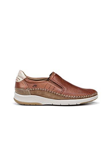 Fluchos | Zapato de Hombre | MAUI F0794 Tornado Cuero | Zapato de Piel | Cierre con Elásticos | Piso TR