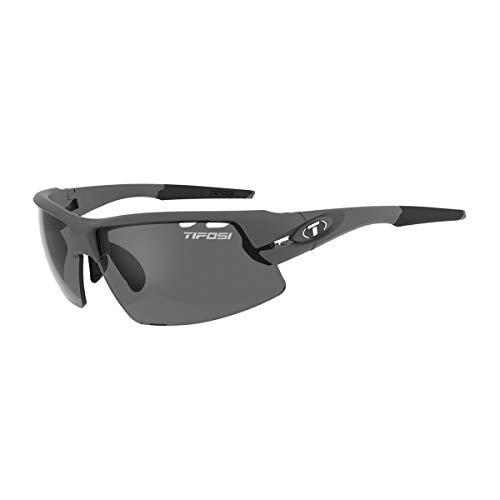 Tifosi Crit Polarised Fototec Photo Chromic Smoke Lens Gafas, Unisex Adulto, Matte Gunmetal/Polar, Talla única