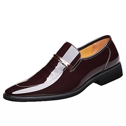 Zapatos de Vestir de Negocios para Hombres Impermeables Anti