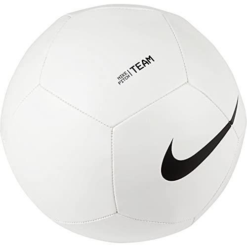 Nike Balón de fútbol Unisex, Color Blanco/Negro, 5