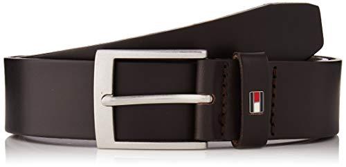 Tommy Hilfiger Adan Leather 3.5 Cinturón, (Multi 0jw), 100 (Talla del fabricante: 85.0) para Hombre