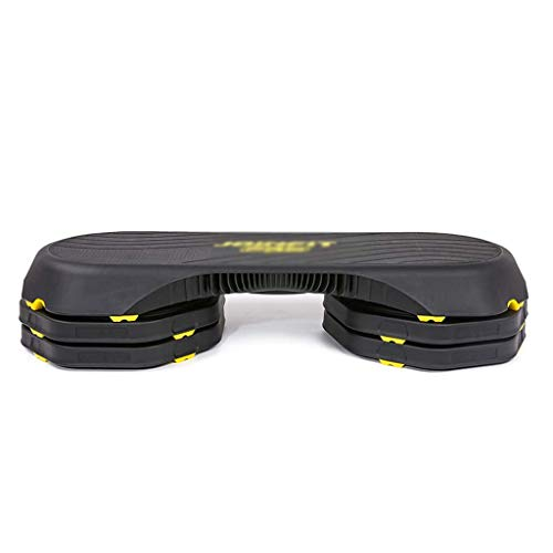 LHY-Steps Entrenamiento Ajustable Aerobic Stepper Gran Ejercicio De Fitness Plataforma De Ejercicios Entrenador Equipo De Gimnasio En Casa con Elevador Y Tablero Antideslizante Premium De 107 Cm