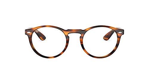 Ray-Ban 5283 Monturas de gafas, Striped Havana, 49 para Hombre