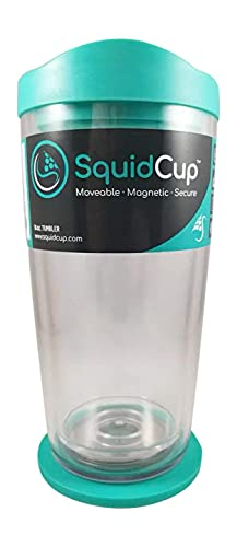 photo of turquoise colored SquidCup