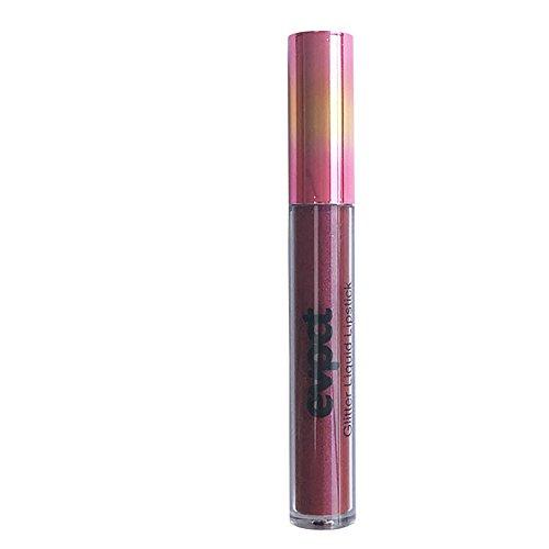 BOLANQ Fashion Lip Lippenstift Kosmetik Frauen Sexy wasserdichte Lippen Metallic Lipgloss