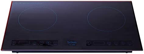 Portable Induction Cooktop 2800W 220V Energy-saving Electric Cooktop withl Sensor Touch Screen Control and Kids Safety...