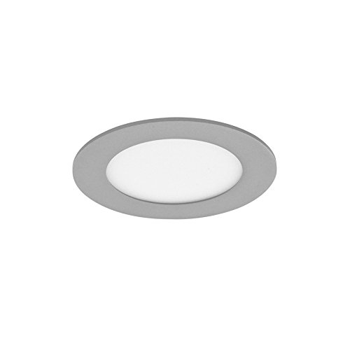 Adtwin 02-007-12-181 LED extraplano downlight, 12 W, luz neutra, 4000° K, color gris