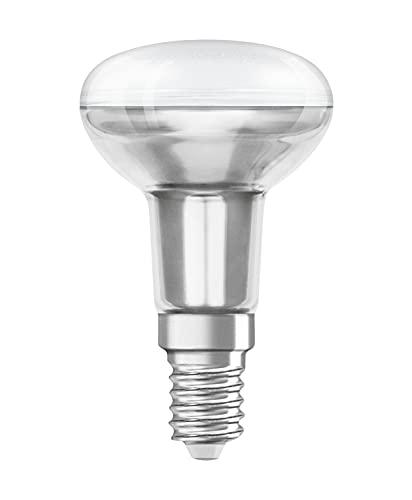 Osram LED Lampada non riflettore, Star R50, Attacco: E14, Bianco Caldo, 2700 Kelvin, 2.6 W, 210 lumen, Confezione da 2