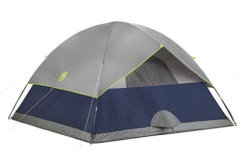 31j+tY9wxYL - Coleman 4-Person Dome Tent for Camping | Sundome Tent with Easy Setup