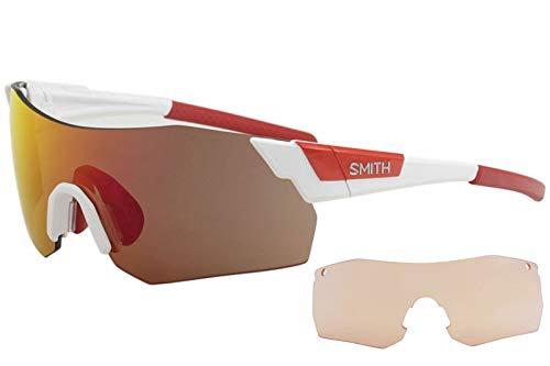 Smith Unisex-Erwachsene PIVLOCKARE.MAXN X6 VK6 99 Sonnenbrille, Weiß (White/Red Marl Cp)